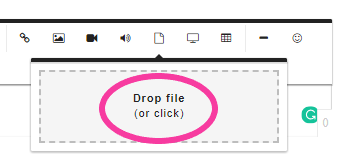 How to upload documents into an online training platform