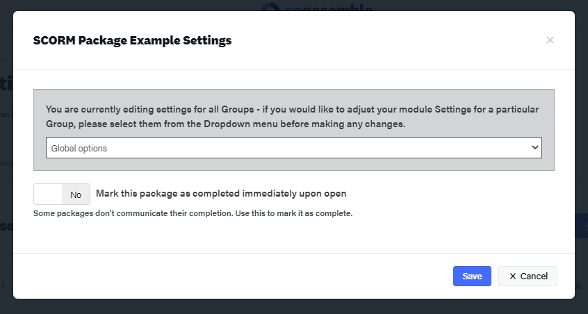 How to upload SCORM files into an online training platform