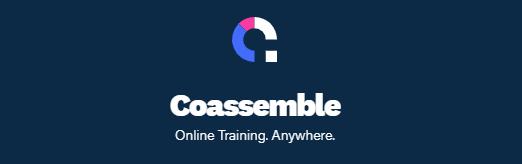 Online training platform banner