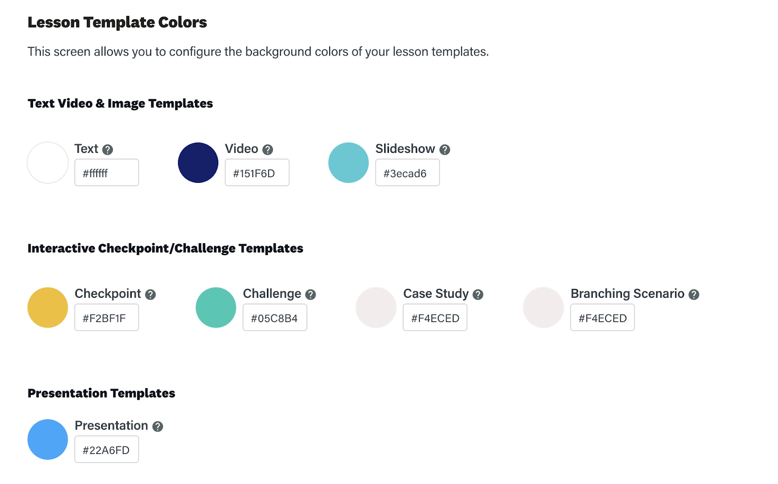 How to change the colors in an online training course for WCAG 2.0 compliance