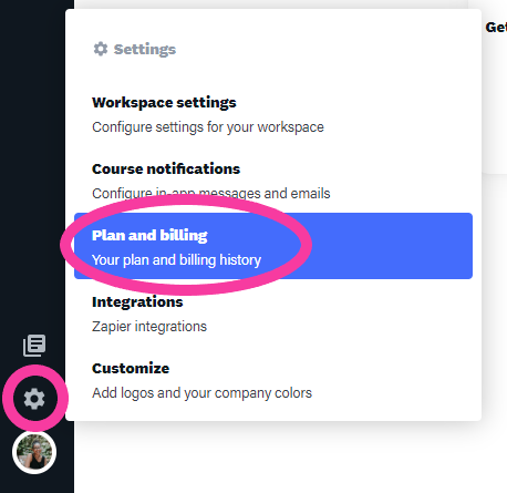 pricing for an online training platform